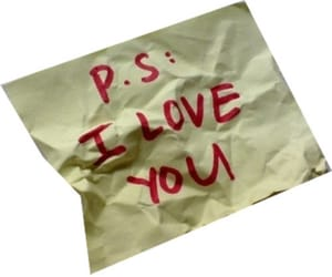 ps i love you and love image