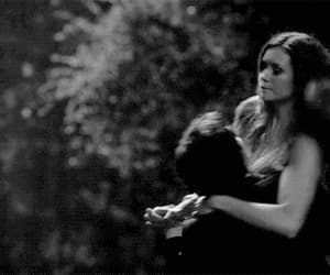 gif, the vampire diaries, and delena image