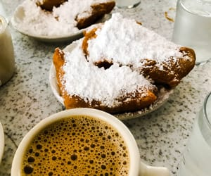 cafe, coffee, and new orleans image