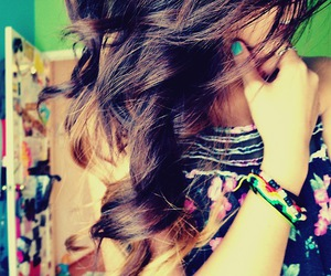 colorful, hair, and ombre image