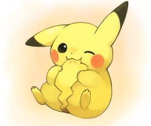 anime, pikachu, and fanart image