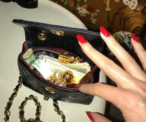 fashion, chanel, and nails image