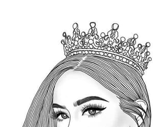 Queen, crown, and tumblr image