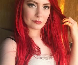 ariel, red hair, and REF image