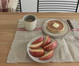 food, apple, and pastel image
