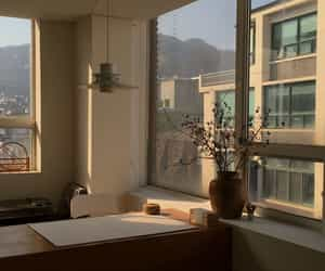 aesthetic, beige, and room image