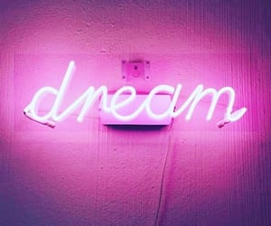 Dream, glow, and neon image