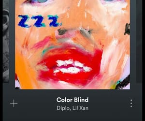 colorblind, song, and lil xan image