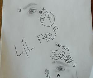 art, drawing, and rap image