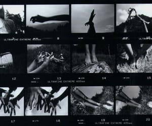 35mm, drawings, and hands image