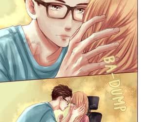 manga, manga girl, and manga couple image