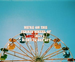 aesthetic, color, and ferris wheel image