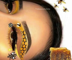 bee, gorgeous, and honey image