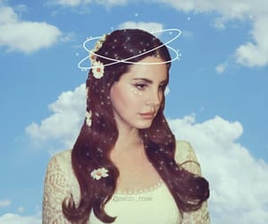 lana del rey, flowers, and lust for life image