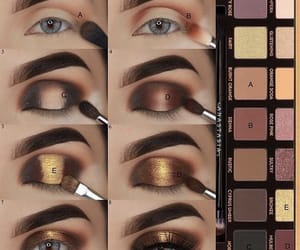 eyeshadow, makeup, and anastasia beverly hills image