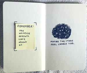 stars, lonely, and quotes image