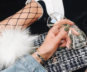bracelet, fashion, and sneakers image