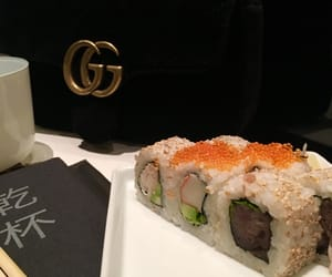 bag, food, and luxury image