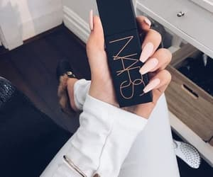 nars, nails, and makeup image