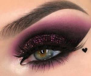 eyeliner, fashion, and girly image