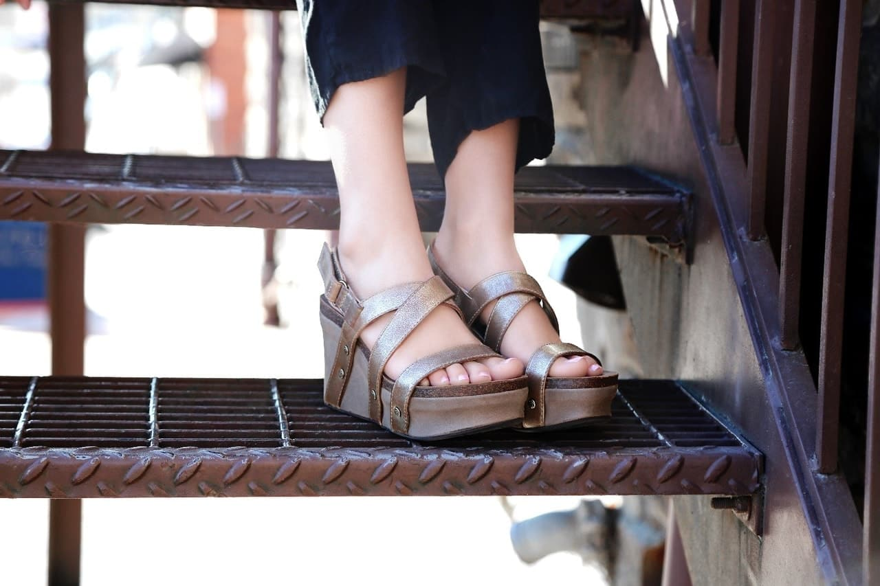 article, wedges, and fashion image