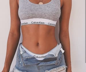 Calvin Klein, body, and outfit image