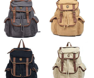 backpack, fashion, and style image