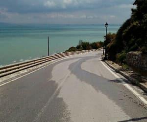 road, sidi bousaid, and a long way image