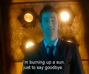 cry, david tennant, and doctor who image