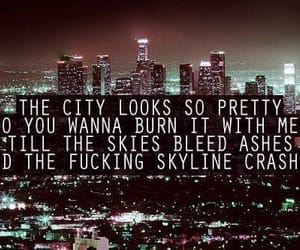 city, hollywood undead, and light image