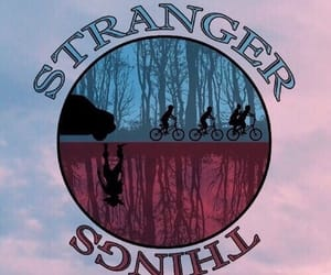 stranger things, wallpaper, and netflix image