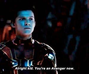 gif, Marvel, and tony stark image