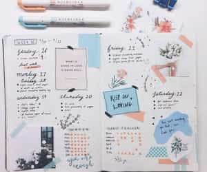 bujo, inspiration, and bullet journal image
