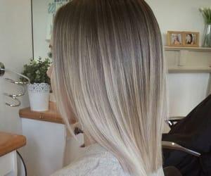 hair, balayage, and hairstyle image