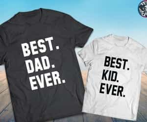 daddy and daughter, fathers day shirt, and gift for him image