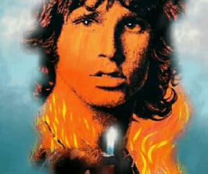 art, singer, and thedoors image