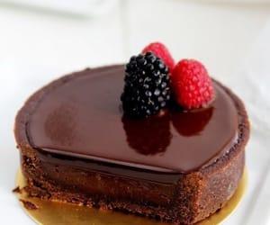 chocolate, tart, and cake image