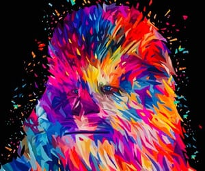 art, awesome, and colours image