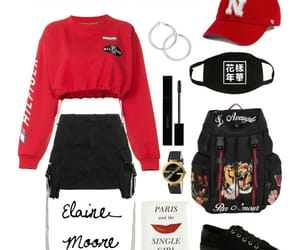 black, fashion, and korea image