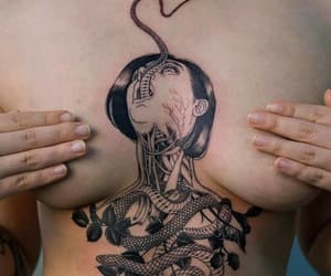 art, Tattoos, and inked image