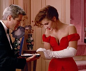 gif, pretty woman, and movie image