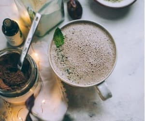 aesthetic, basil, and chocolate image