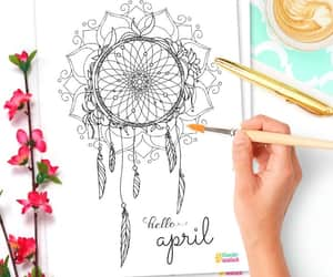 april, art, and craft image