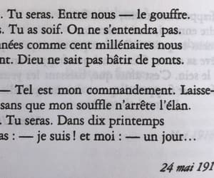 beutiful, poetry, and french image