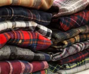 color, oversized, and flannel image