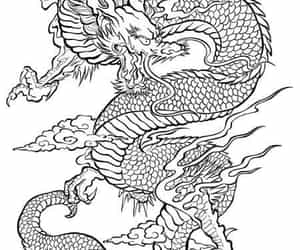 dragon tattoo image