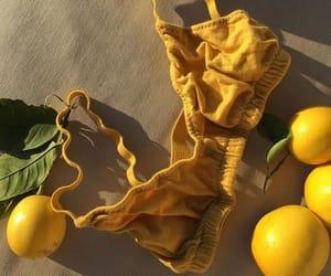 yellow, lemon, and vintage image