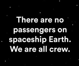 astronauts, true, and black and white quotes image