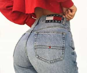 ass, tommy hilfiger, and blue image
