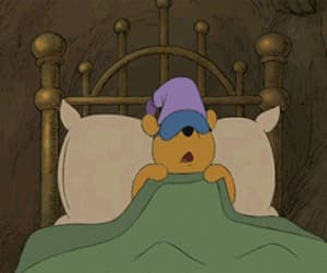 winnie the pooh, sleep, and disney image